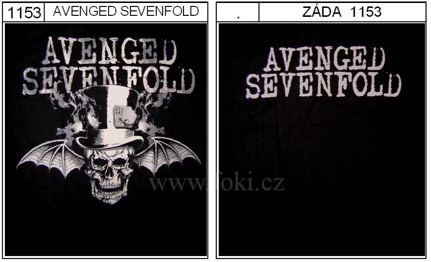 Avenged Sevenfold - triko - kliknutím se obrázek zavře