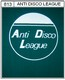Anti Disco League - triko - zelené