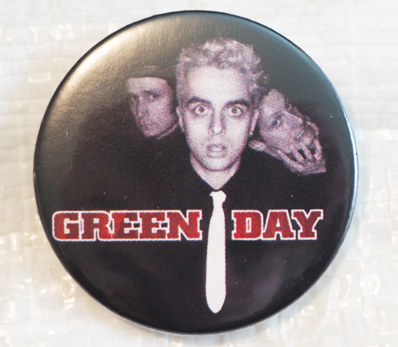 Green Day-placka